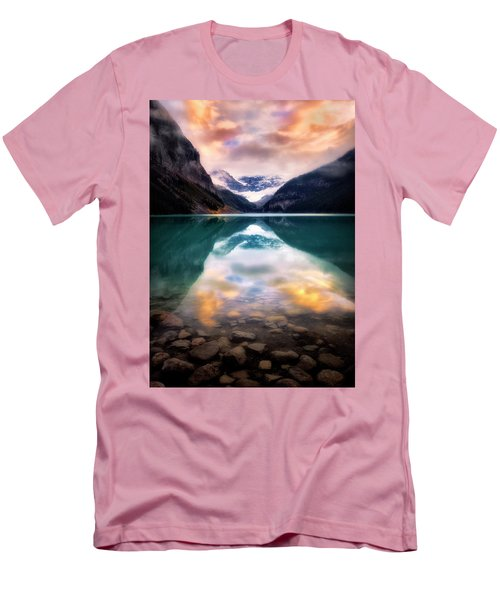 One Colorful Moment  Men's T-Shirt (Slim Fit) by Nicki Frates