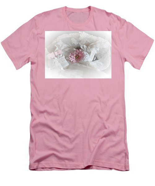 Men's T-Shirt (Slim Fit) featuring the photograph Our Little Girl Is All Grown Up by Sherry Hallemeier