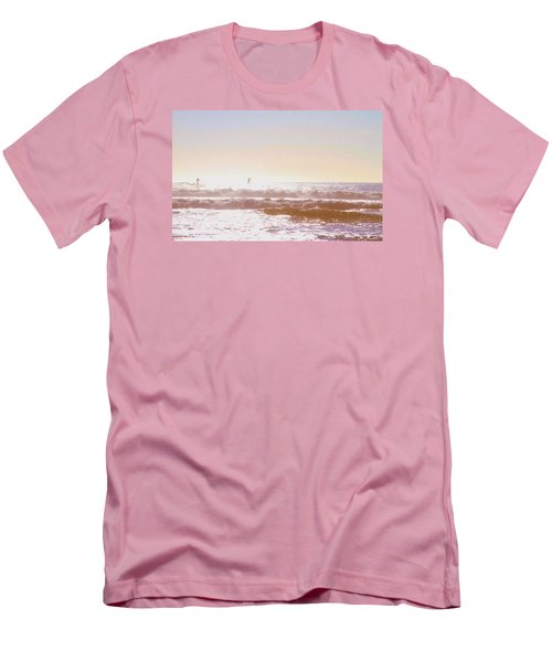 Paddleboarders Men's T-Shirt (Athletic Fit)