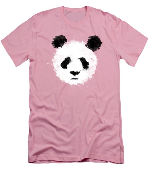 Panda Men's T-Shirt (Athletic Fit)