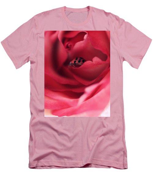 Patient Lady Men's T-Shirt (Slim Fit) by The Art Of Marilyn Ridoutt-Greene