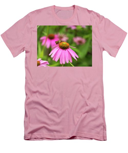 Peaceful Skipper Butterfly Men's T-Shirt (Athletic Fit)