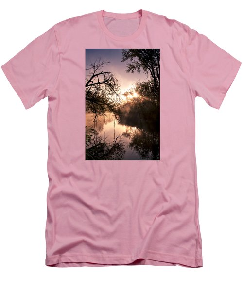 Perfect Reflections Men's T-Shirt (Slim Fit) by Annette Berglund
