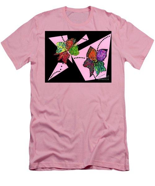 Petals In Motion Men's T-Shirt (Athletic Fit)