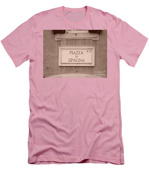 Piazza Di Spagna Men's T-Shirt (Athletic Fit)