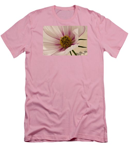 Pink Bi Color Cosmo Macro Men's T-Shirt (Athletic Fit)