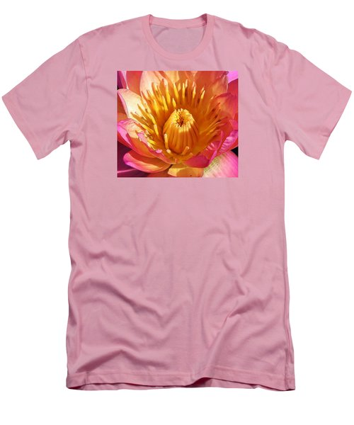 Pink Suprise Men's T-Shirt (Athletic Fit)