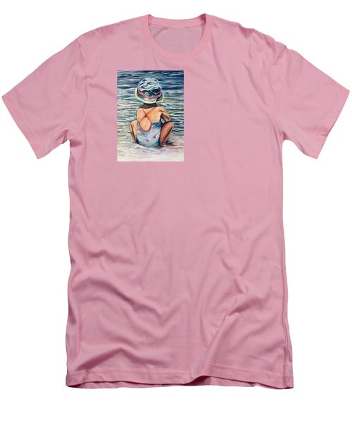 Playing In The Waves Men's T-Shirt (Athletic Fit)