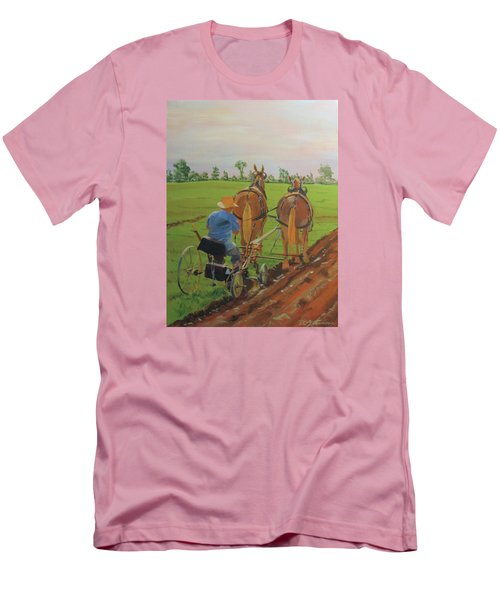 Plowing Match Men's T-Shirt (Athletic Fit)