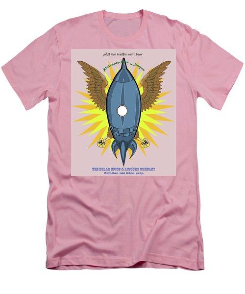 Polesotechnic League Emblem Men's T-Shirt (Athletic Fit)