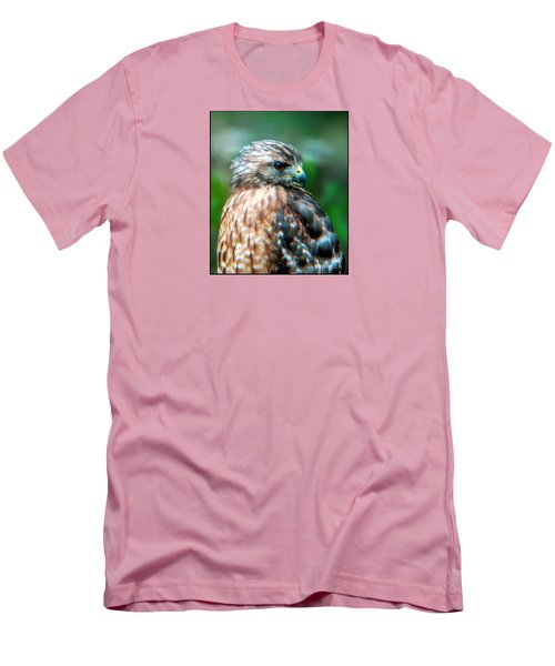 Portrait Of A Hawk Men's T-Shirt (Athletic Fit)