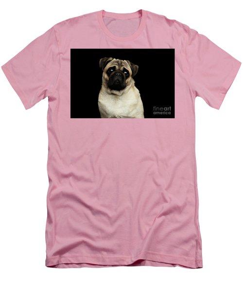 Portrait Of Pug Men's T-Shirt (Athletic Fit)