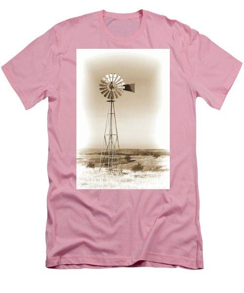 Prairie Guardian Men's T-Shirt (Slim Fit) by Sylvia Thornton