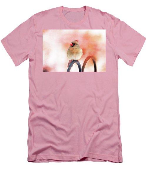 Pretty Cardinal Men's T-Shirt (Athletic Fit)