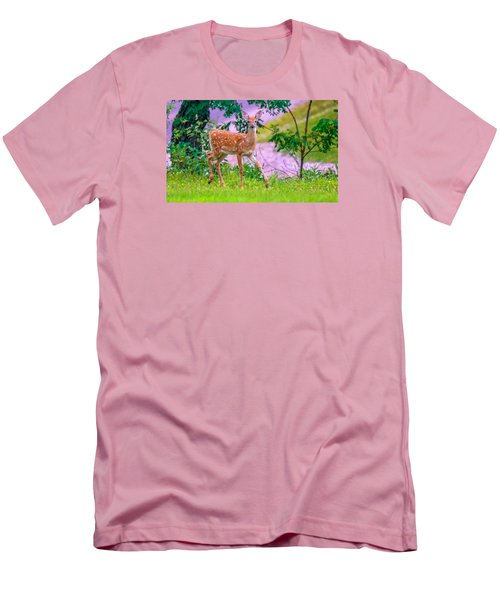 Pretty In Pink 3 Men's T-Shirt (Slim Fit) by Brian Stevens
