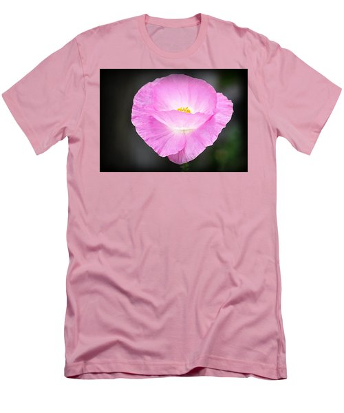 Men's T-Shirt (Slim Fit) featuring the photograph Pretty In Pink by AJ Schibig