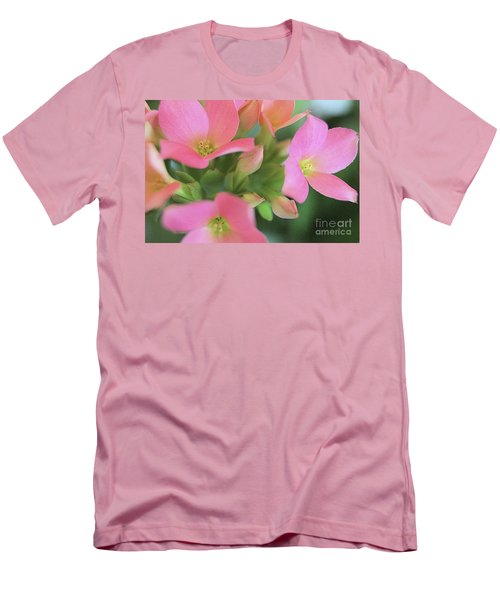 Pretty In Pink Men's T-Shirt (Slim Fit) by Victor K