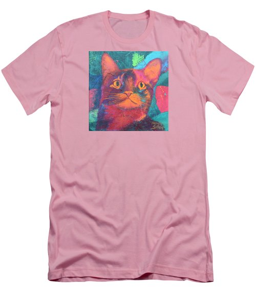 Pretty Kitty Men's T-Shirt (Athletic Fit)