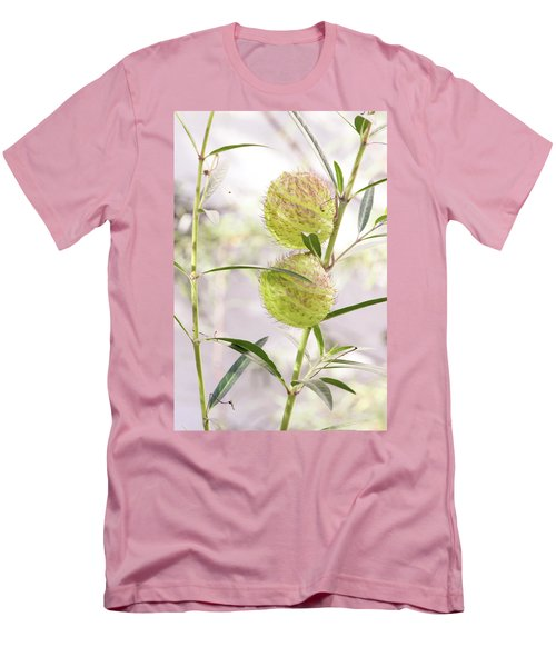 Men's T-Shirt (Athletic Fit) featuring the photograph Prickly Balls by Deborah  Crew-Johnson