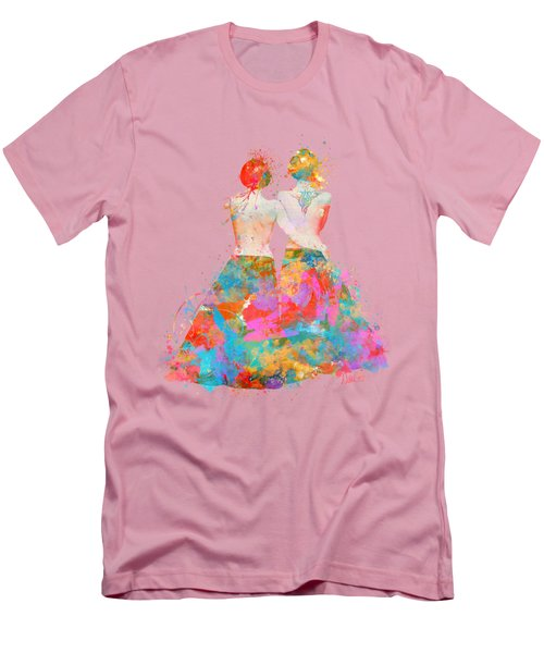 Men's T-Shirt (Slim Fit) featuring the digital art Pride Not Prejudice by Nikki Marie Smith