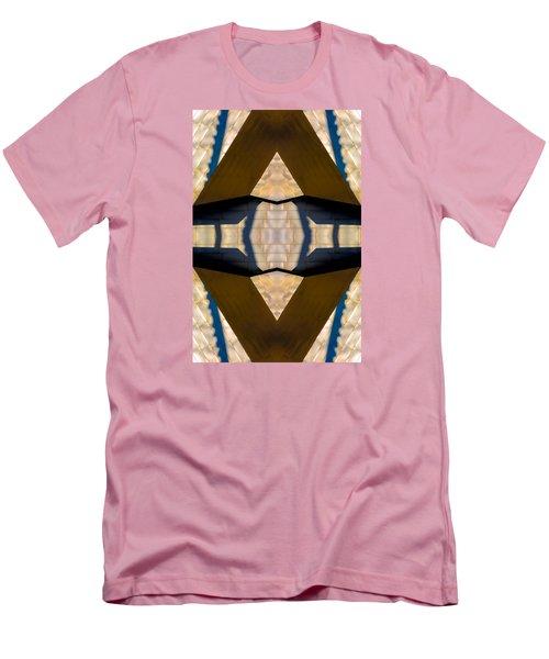 Pritzker Pavilion Gehry N79v2 Men's T-Shirt (Slim Fit) by Raymond Kunst
