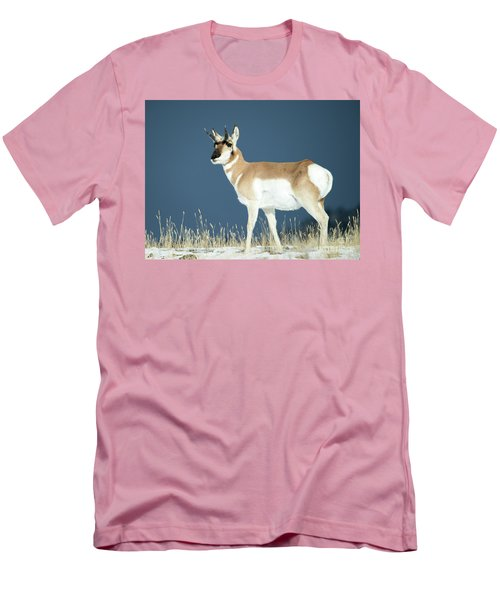 Pronghorn Men's T-Shirt (Athletic Fit)