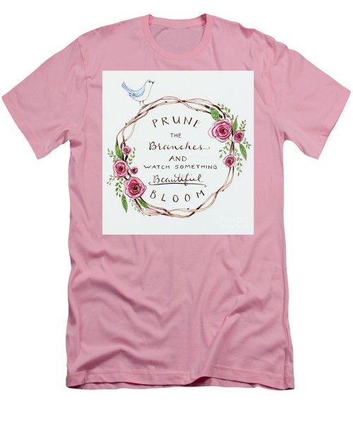 Pruning Men's T-Shirt (Slim Fit) by Elizabeth Robinette Tyndall