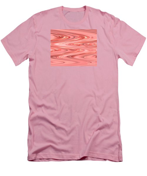 Psychedelic Zigzag Men's T-Shirt (Athletic Fit)