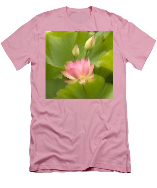 Men's T-Shirt (Athletic Fit) featuring the photograph Purity Reborn by John Poon