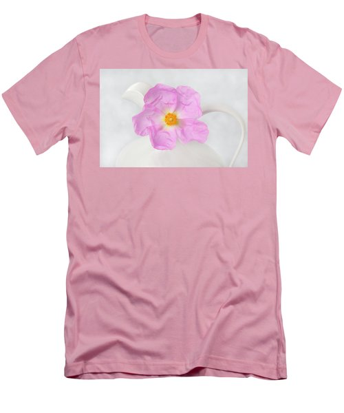 Purple Bloom Men's T-Shirt (Athletic Fit)