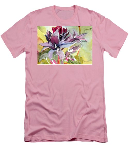 Purple Stem Aster Men's T-Shirt (Athletic Fit)