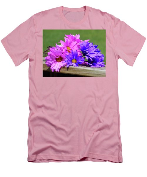 Rainbow Mums 2 Of 5 Men's T-Shirt (Slim Fit) by Tina M Wenger