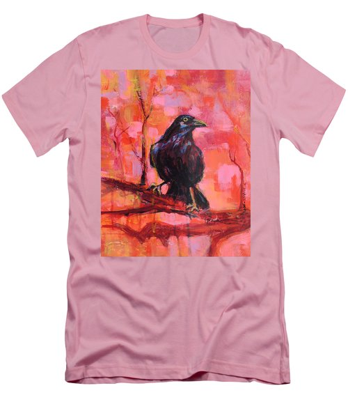 Raven Bright Men's T-Shirt (Slim Fit) by Mary Schiros