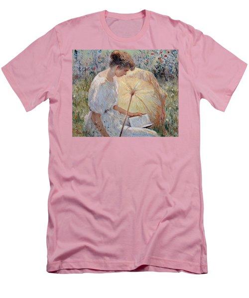 Sunny Day Men's T-Shirt (Slim Fit) by Pierre Van Dijk