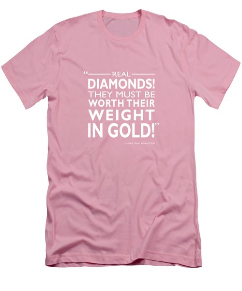 Real Diamonds Men's T-Shirt (Athletic Fit)