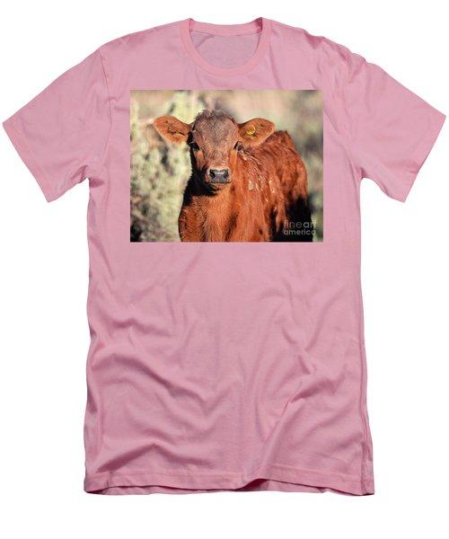 Red Calf Men's T-Shirt (Athletic Fit)
