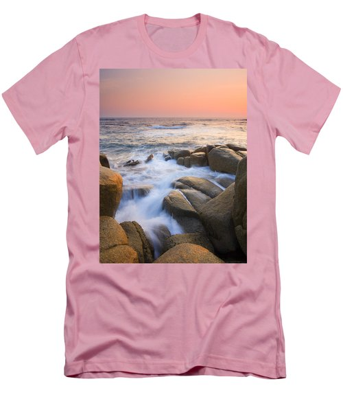 Red Sky At Morning Men's T-Shirt (Slim Fit) by Mike  Dawson