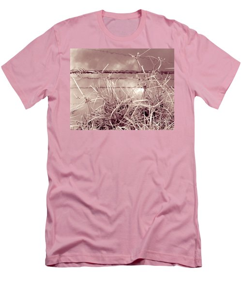 Men's T-Shirt (Slim Fit) featuring the photograph Reflections 1 by Mukta Gupta