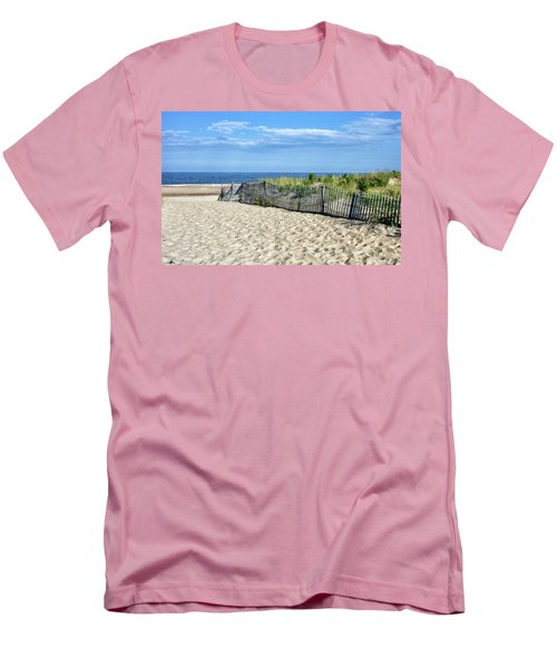 Men's T-Shirt (Slim Fit) featuring the photograph Rehoboth Delaware by Brendan Reals
