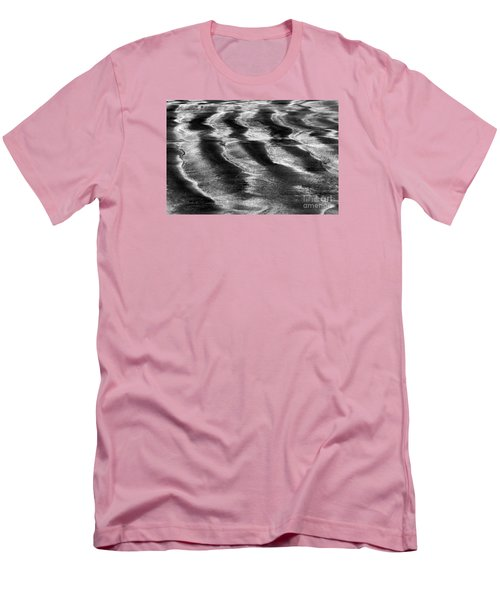 Ripples In The Sand Men's T-Shirt (Slim Fit) by Gary Bridger