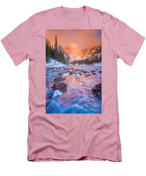 Rocky Mountain Sunrise Men's T-Shirt (Athletic Fit)