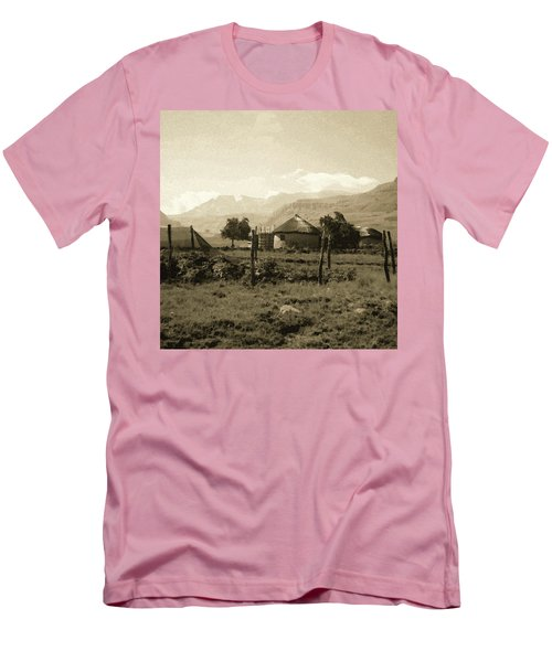 Rondavel In The Drakensburg Men's T-Shirt (Athletic Fit)
