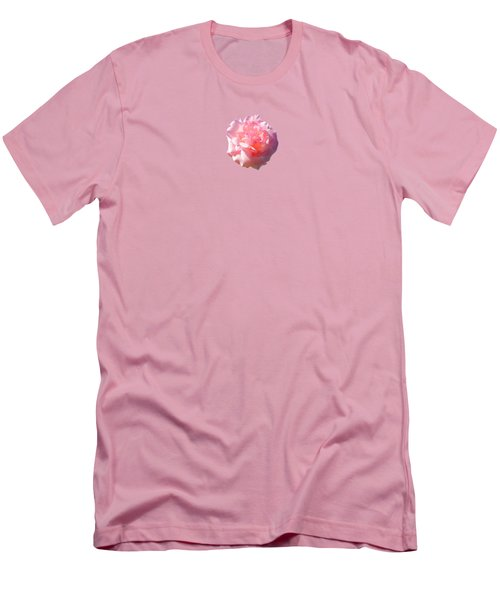 Rose Rose Men's T-Shirt (Slim Fit) by Marc Philippe Joly