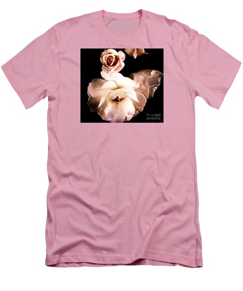 Men's T-Shirt (Slim Fit) featuring the photograph Rose by Vanessa Palomino