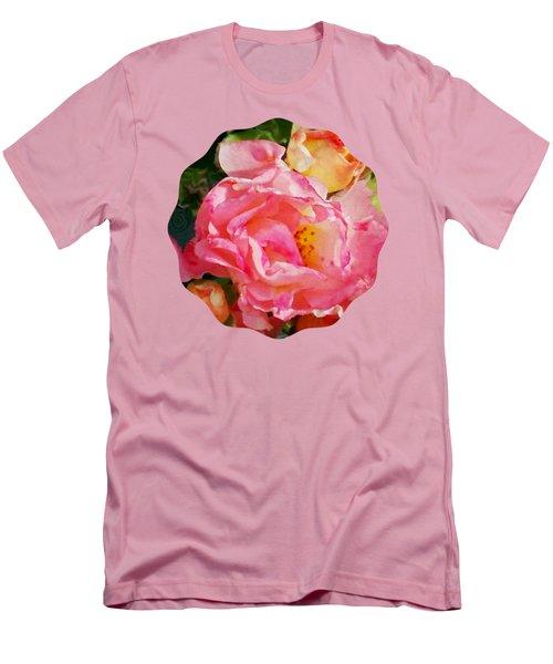 Roses Men's T-Shirt (Slim Fit) by Anita Faye