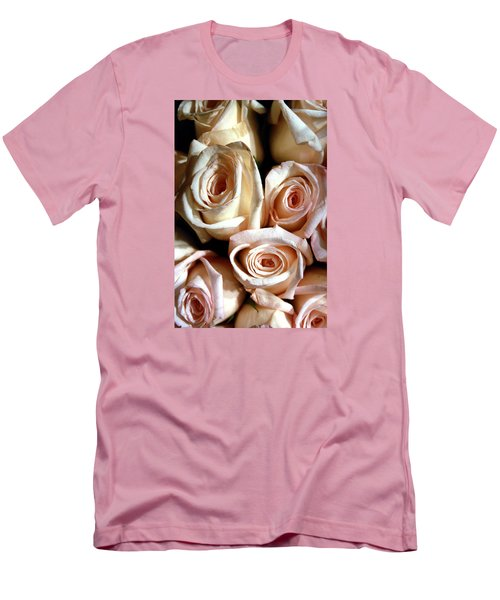 Roses Men's T-Shirt (Slim Fit) by Christopher Woods