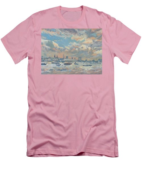 Sail Regatta On The Ij Men's T-Shirt (Athletic Fit)