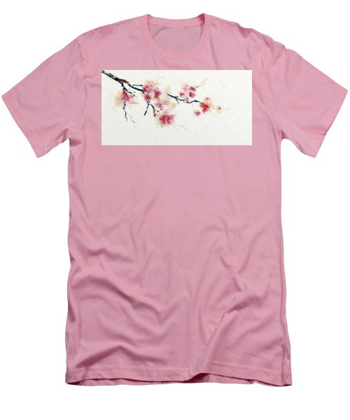Sakura Branch Men's T-Shirt (Athletic Fit)