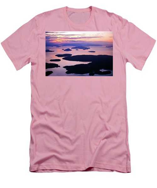 San Juans Tranquility Men's T-Shirt (Slim Fit) by Mike Reid