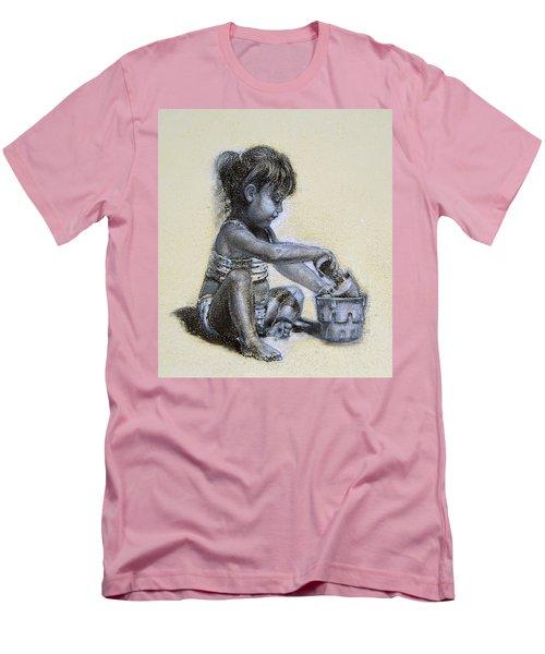 Sand Castles Men's T-Shirt (Athletic Fit)